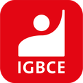 Logo der IG Bergbau, Chemie, Energie