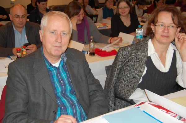 Holger Groteguth bei der Arbeit als Delegierter