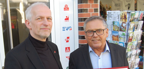 Joachim Sopha und Uwe Polkaehn
