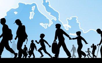 Flüchtlinge, Grafik