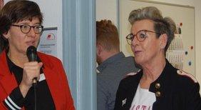 Susanne Uhl und Susanne Welzk