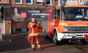 Sven Jakobsen Berufsfeuerwehr Flensburg
